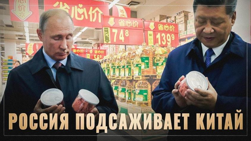 Экспорт России. Китай подсел на российские продовольственные поставки