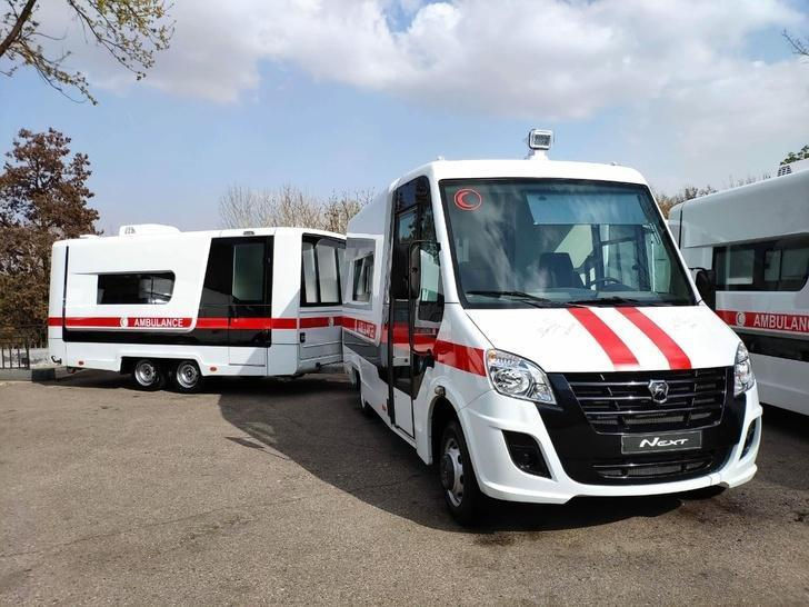 Группа ГАЗ поставила Узбекистану 20 машин скорой помощи