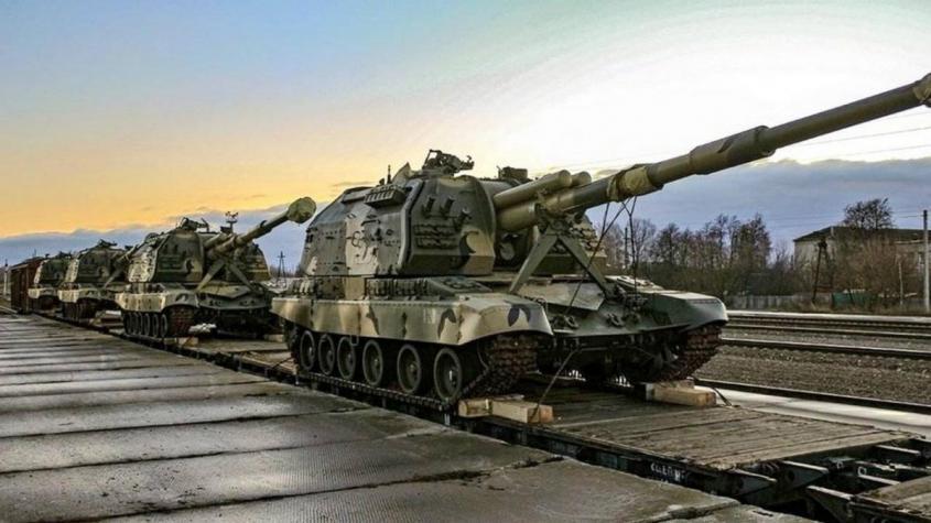 Развёртываемые близ Донбасса военные подразделения России смешали карты в Вашингтоне и Киеве