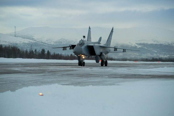 МиГ-31БМ получил новейшую навигационную систему для работы в Арктике