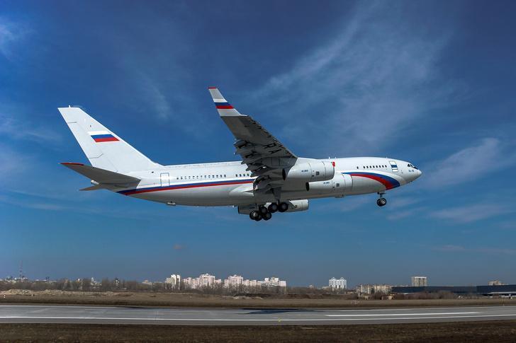 Очередной серийный Ил-96-300 успешно совершил свой первый полёт
