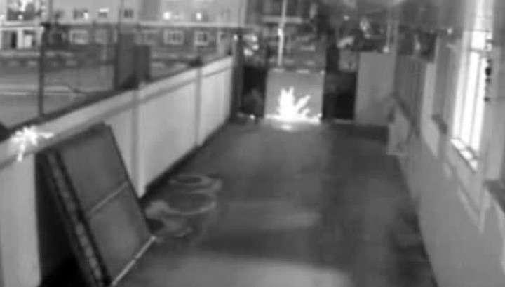 В Сети опубликовано видео спецоперации в грозненском Доме печати