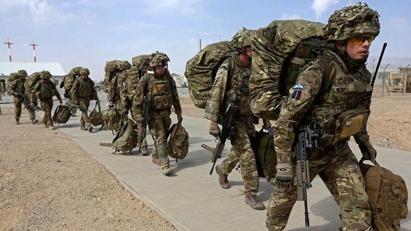На Украину прибыл британский спецназ