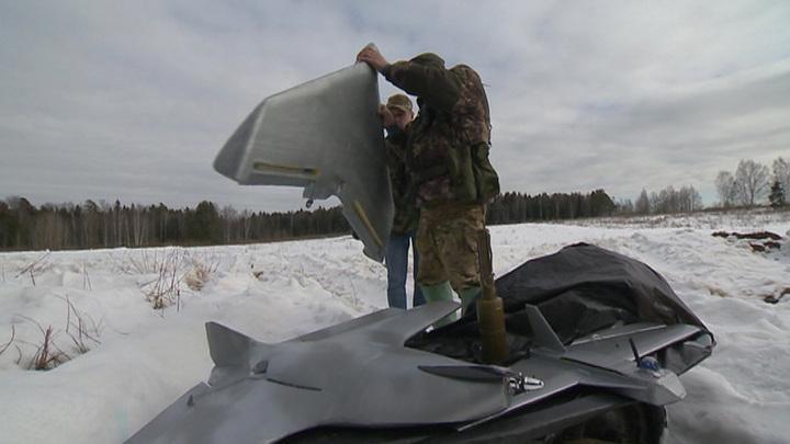 Расчёт РЭБ ЛНР принудительно посадили беспилотник «Фантом» Украинских вооруженных сил