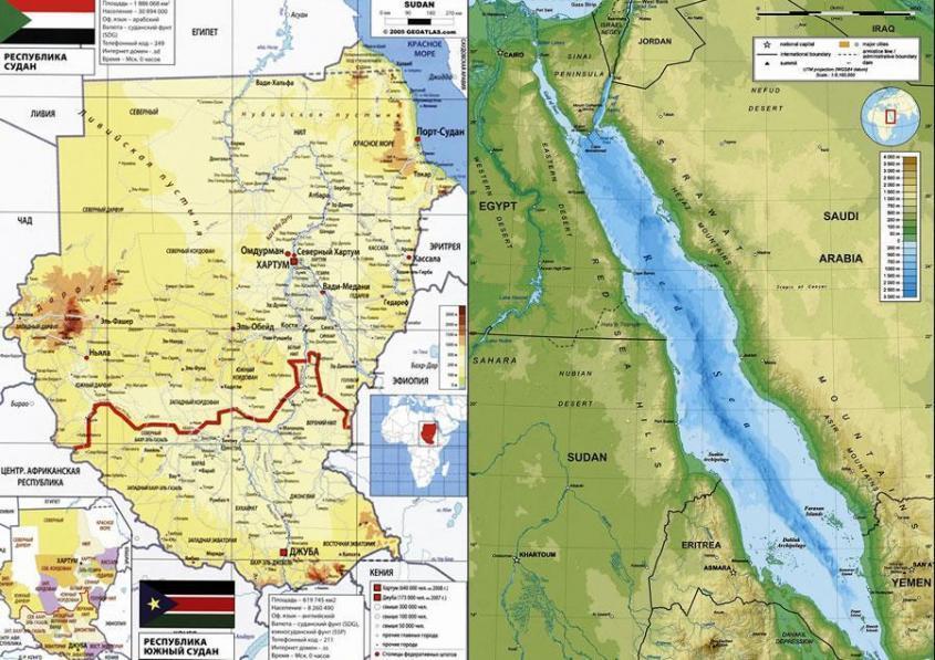 Нужна ли России военная база в Судане? «Русские, забирайте Красное море!»