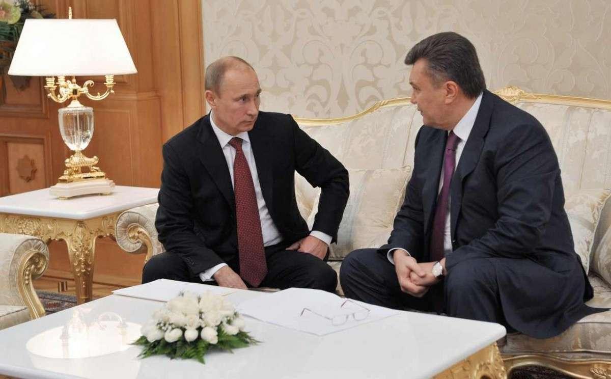 О чем Янукович договорился с Путиным в Сочи