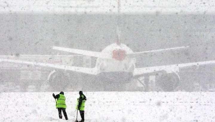 В Москве выпала четверть метра снега
