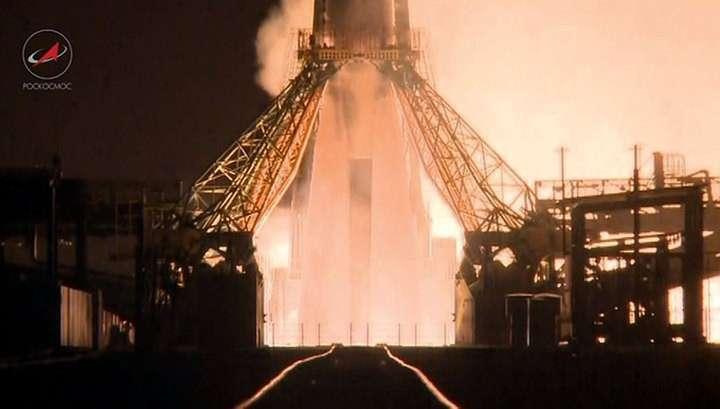 Ракета-носитель «Союз» стартовала с Байконура