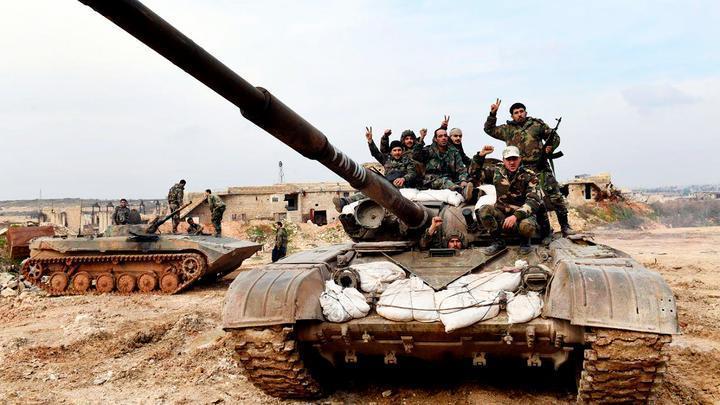 Сирийская армия отразила атаку террористов в Идлибе
