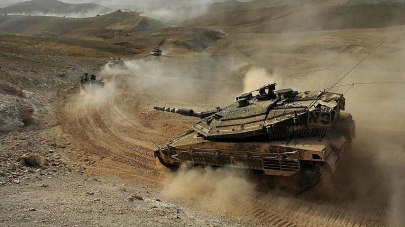 Террористический Израиль начал наносить удары по объектам ХАМАС