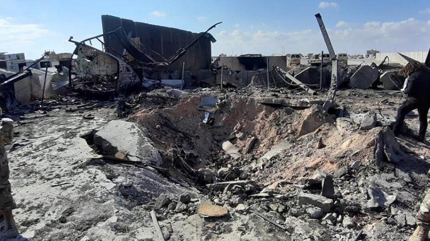 Беспилотник нанёс удар по военной базе США в Ираке