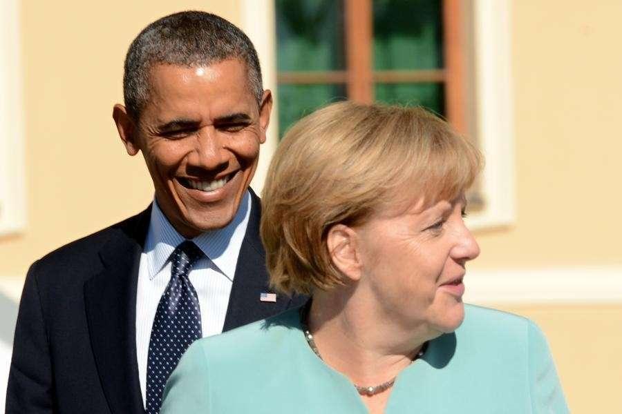 Несогласные с политикой Ангелы Меркель немцы могут избавить Россию от американского вторжения