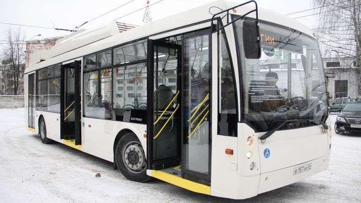 ВЯрославль прибыл первый электробус