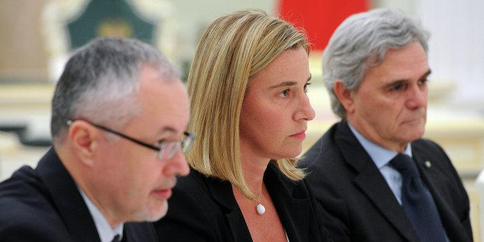 ЕС выступает против конфронтации с Россией по Украине