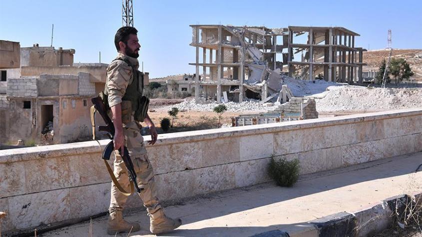 В Сирии американские наёмники и «Белые каски» доставили в Идлиб ёмкости с хлором