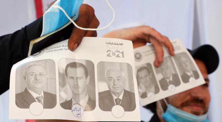В Сирии началось голосование на президентских выборах