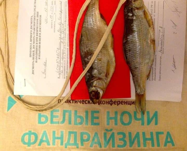 Деньги на демократию в Россию «приплывают» с воблой