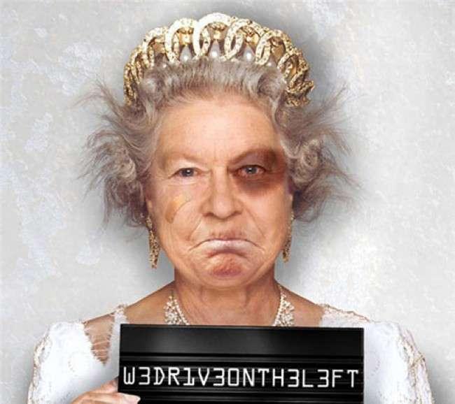 Королева - не настоящая