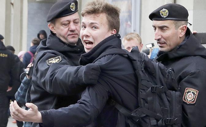 Протасевич начал «петь» всего через несколько часов после задержания