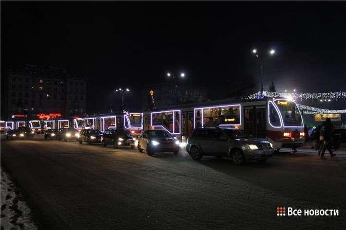 20 новых Уралтрансмашевских трамваев украсили предпраздничный Нижний Тагил