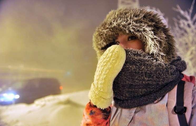 В центральную часть Канады пришли аномальные морозы