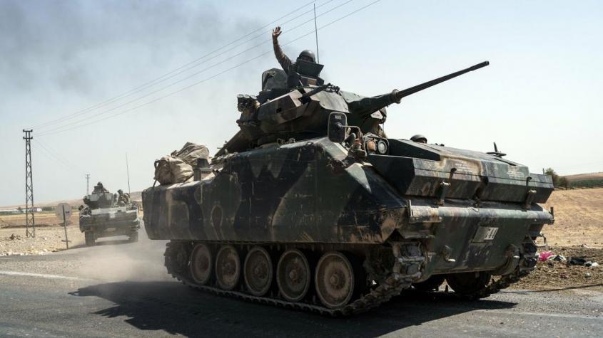 Война в Сирии: Турция захватывает чужие территории