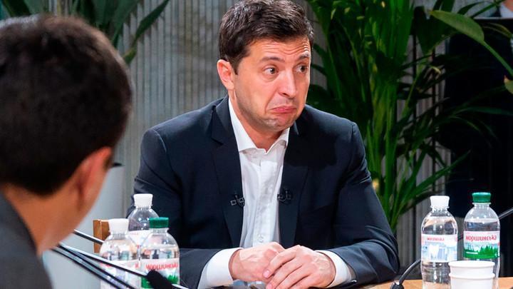 Психоз и истерика Зеленского завершилась показательной поркой от Джо Байдена