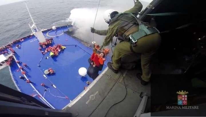 Пассажиры Norman Atlantic: паром горел как вулкан посреди моря