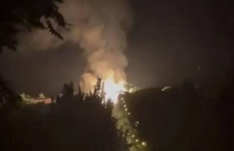 В центре Луганска прогремел мощный взрыв на газопроводе