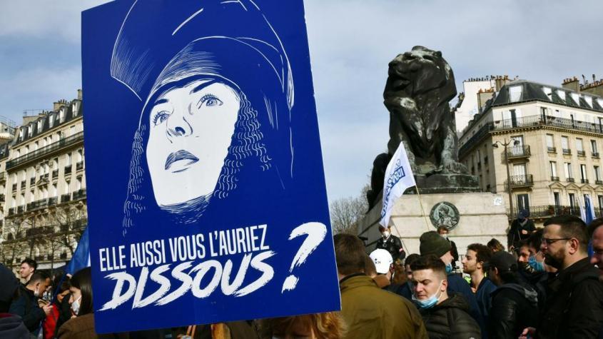 Участники акции протеста радикалов на площади Данфер-Рошро в Париже – РИА Новости, 1920, 20.06.2021