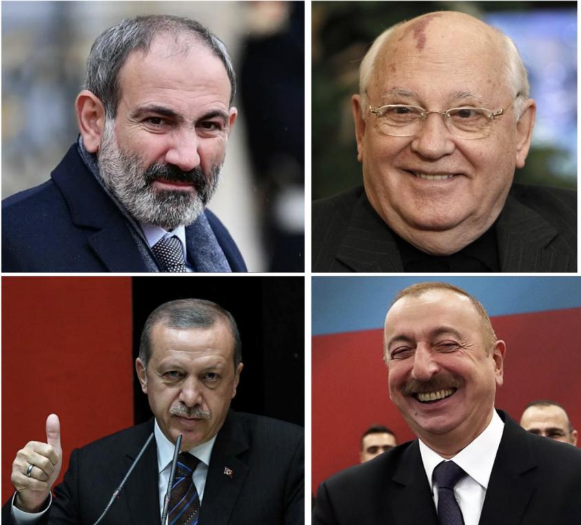 Армения удивила конечно, очередной раз избрав на свою голову местного «Горбачёва»