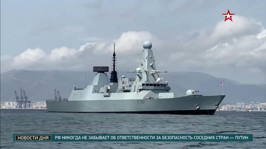 «Залёт» эсминца ВМС Великобритании в Черное море: подробности события