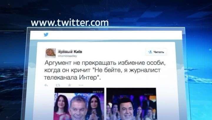 Хунта может лишить украинский телеканал лицензии из-за новогоднего огонька