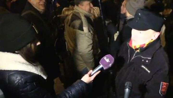 Участники шествия в честь Бандеры избили российских журналистов