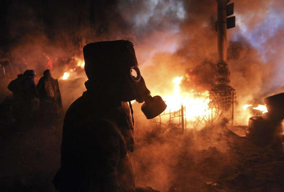 Цветная революция на Украине