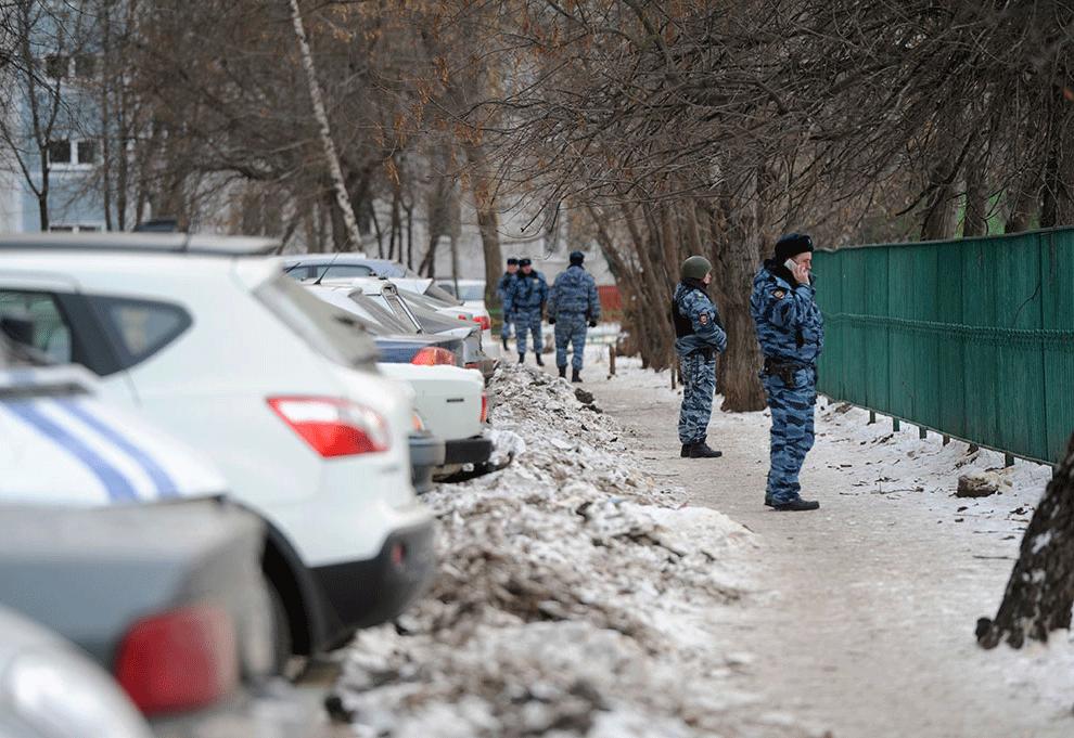 Стрельба в московской школе №263