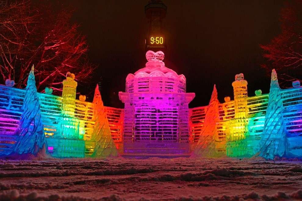 Это 65-й снежный фестиваль в Саппоро