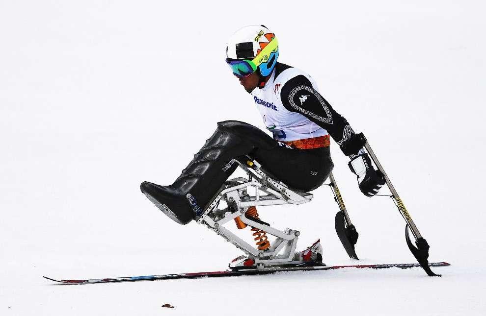 Соревнования по скоростному спуску сидя в горнолыжном спорте на зимних Паралимпийских играх 2014