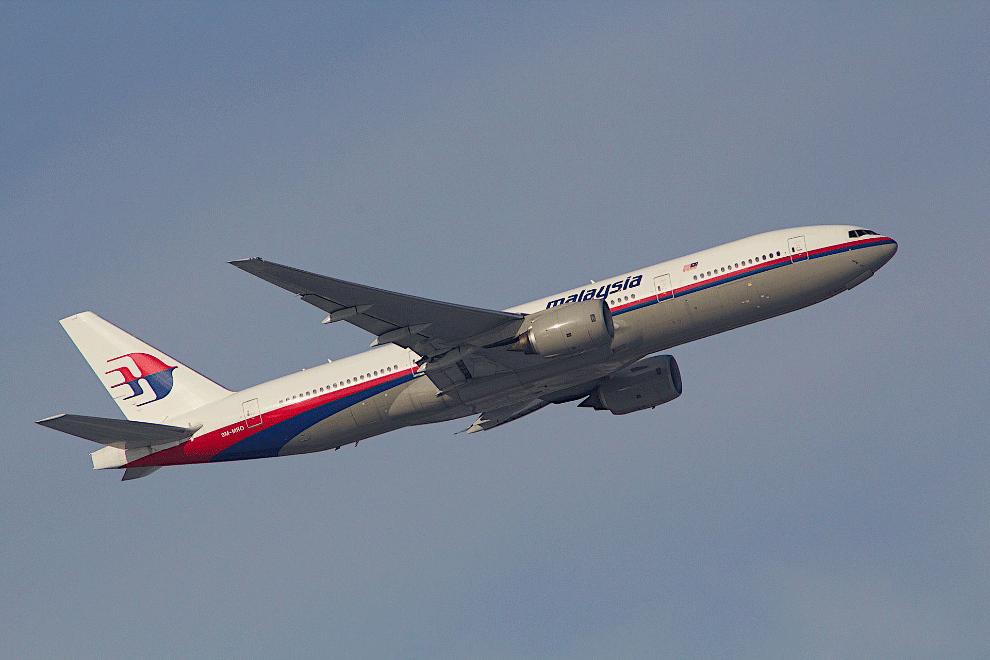 Это Boeing 777-200ER за 15 месяцев до катастрофы