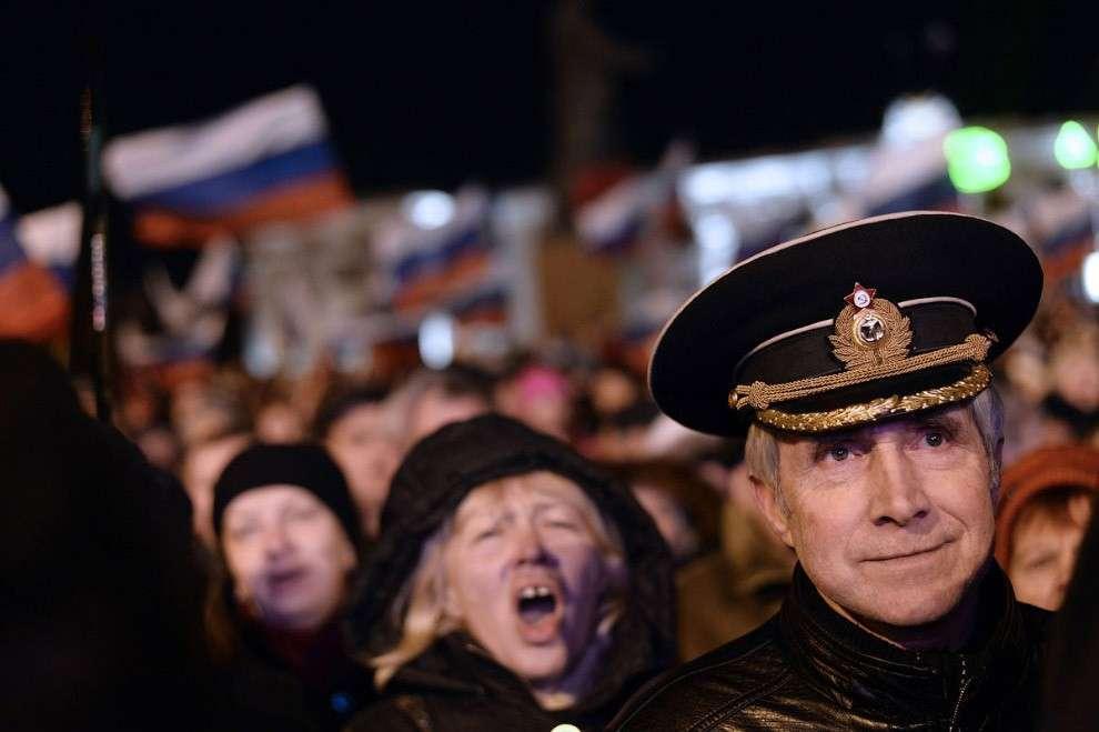 Крым проголосовал за вхождение в состав России