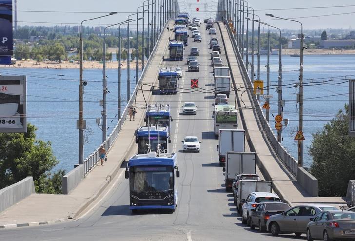 Первые 10 новых троллейбусов «Адмирал» прибыли в Саратов