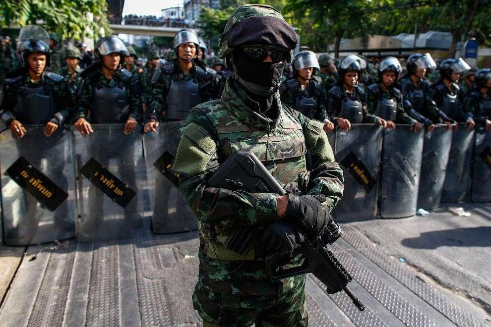 Военный переворот 2014 года в Таиланде