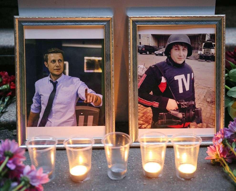 В течение июня на Украине погибло несколько российских журналистов