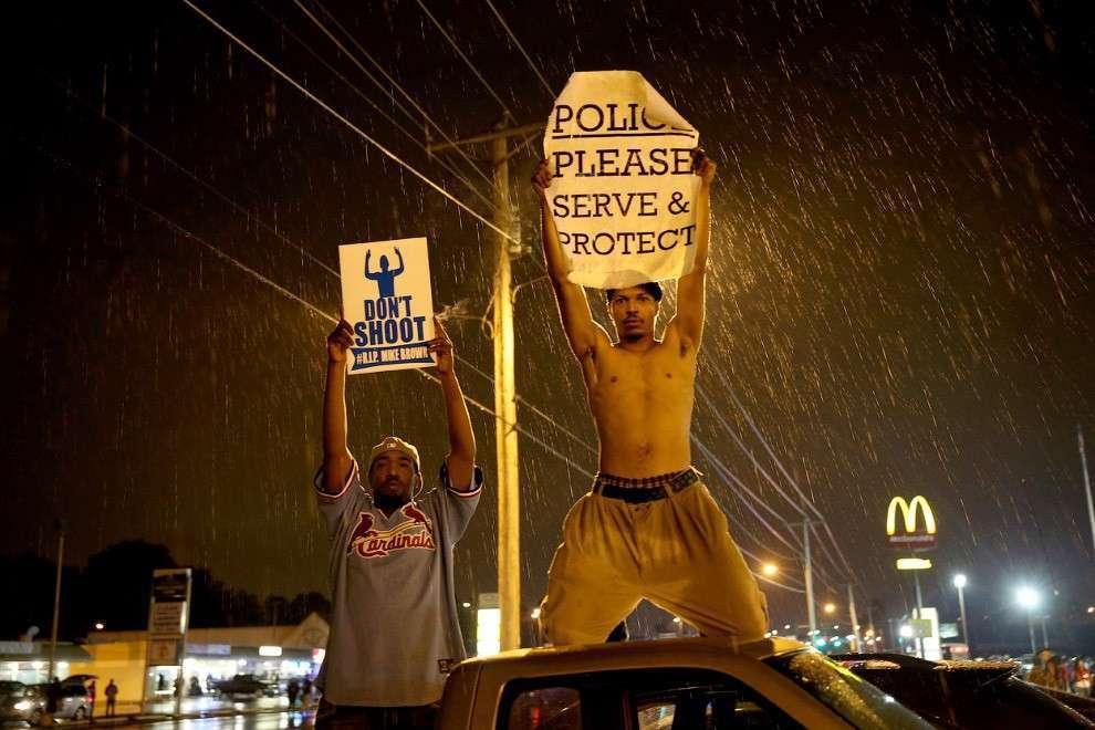 Протесты в Фергюсоне