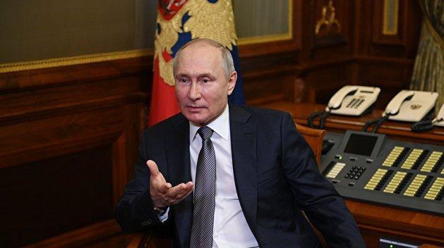 Статья Путина о незалежной. Их ответ: никогда мы не будем