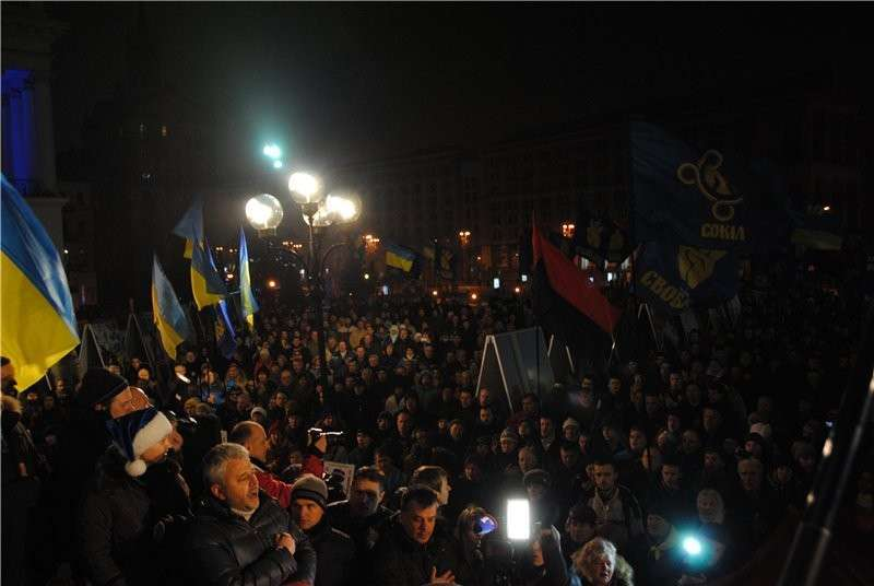Бандеровский сходняк постановил, что ЕС и НАТО ответят за предательство Украины