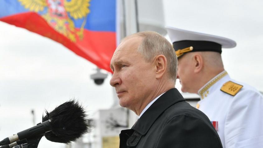 Владимир Путин рассказал о новейшем вооружении российского флота