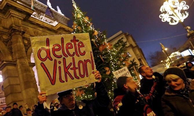 Демократы организуют демонстрации против Виктора Орбана