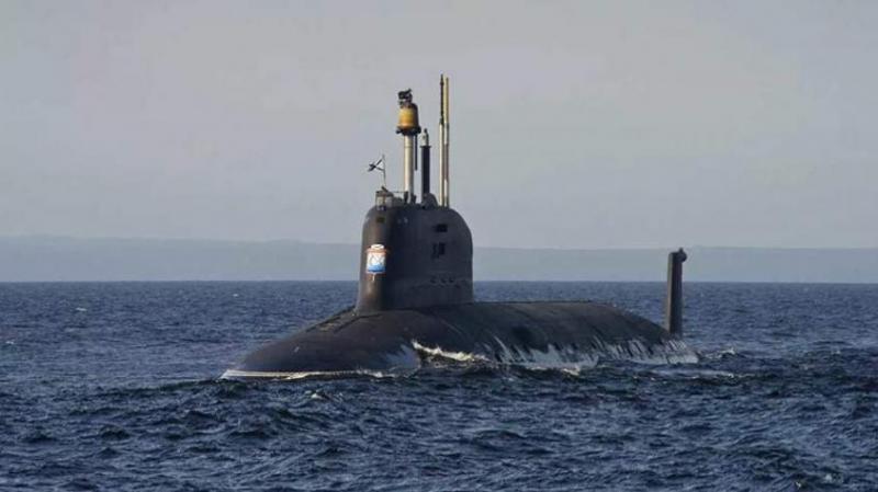 В Северодвинске спустили на воду атомный подводный ракетный крейсер «Красноярск»
