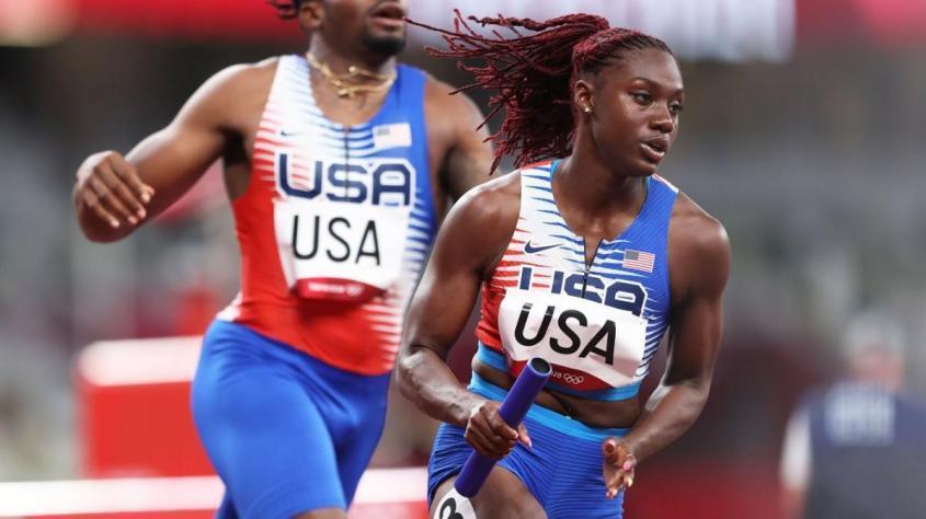Команду США вторую Олимпиаду подряд протаскивают в финал эстафеты вне очереди